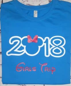 2019 Disney Family Vacation Personalized Shirts