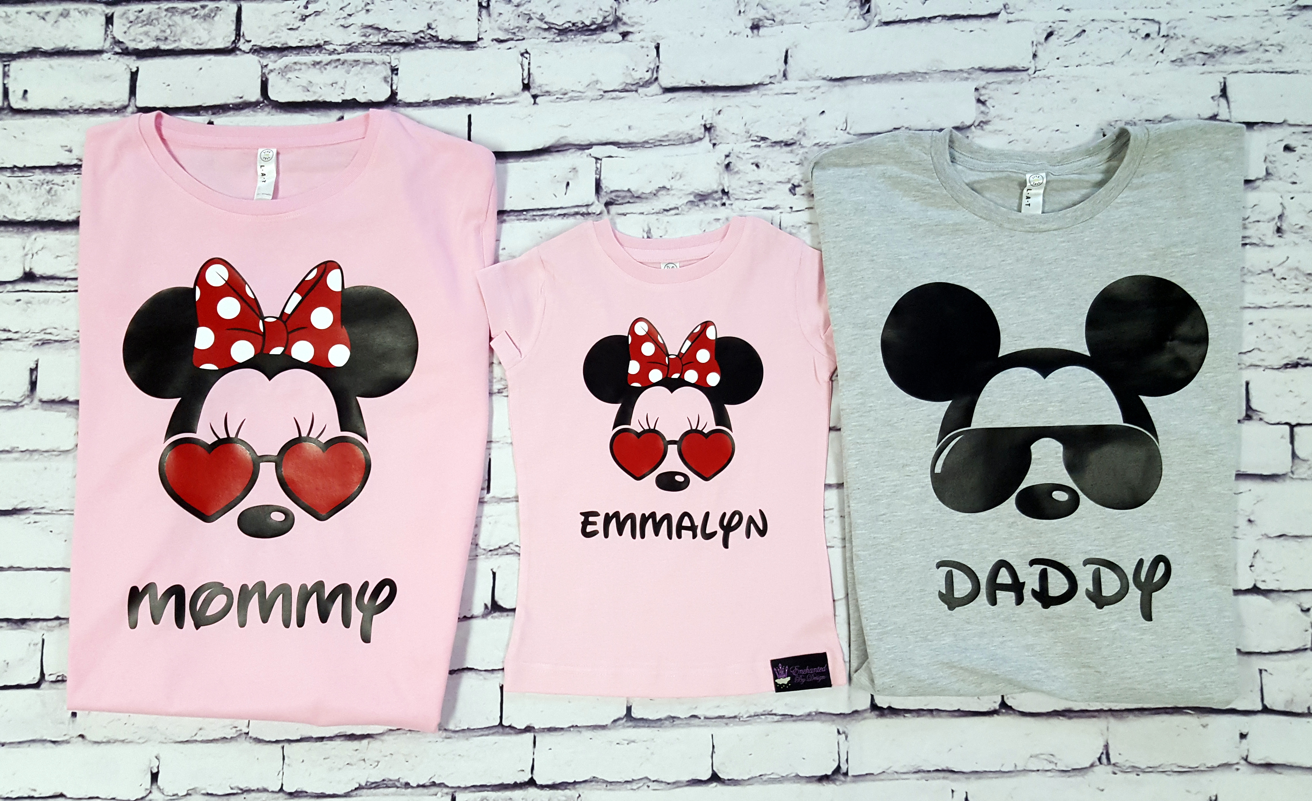 d1b1ef8476 Sunglass Mickey and Minnie Mouse Disney Family Trip Shirts ...
