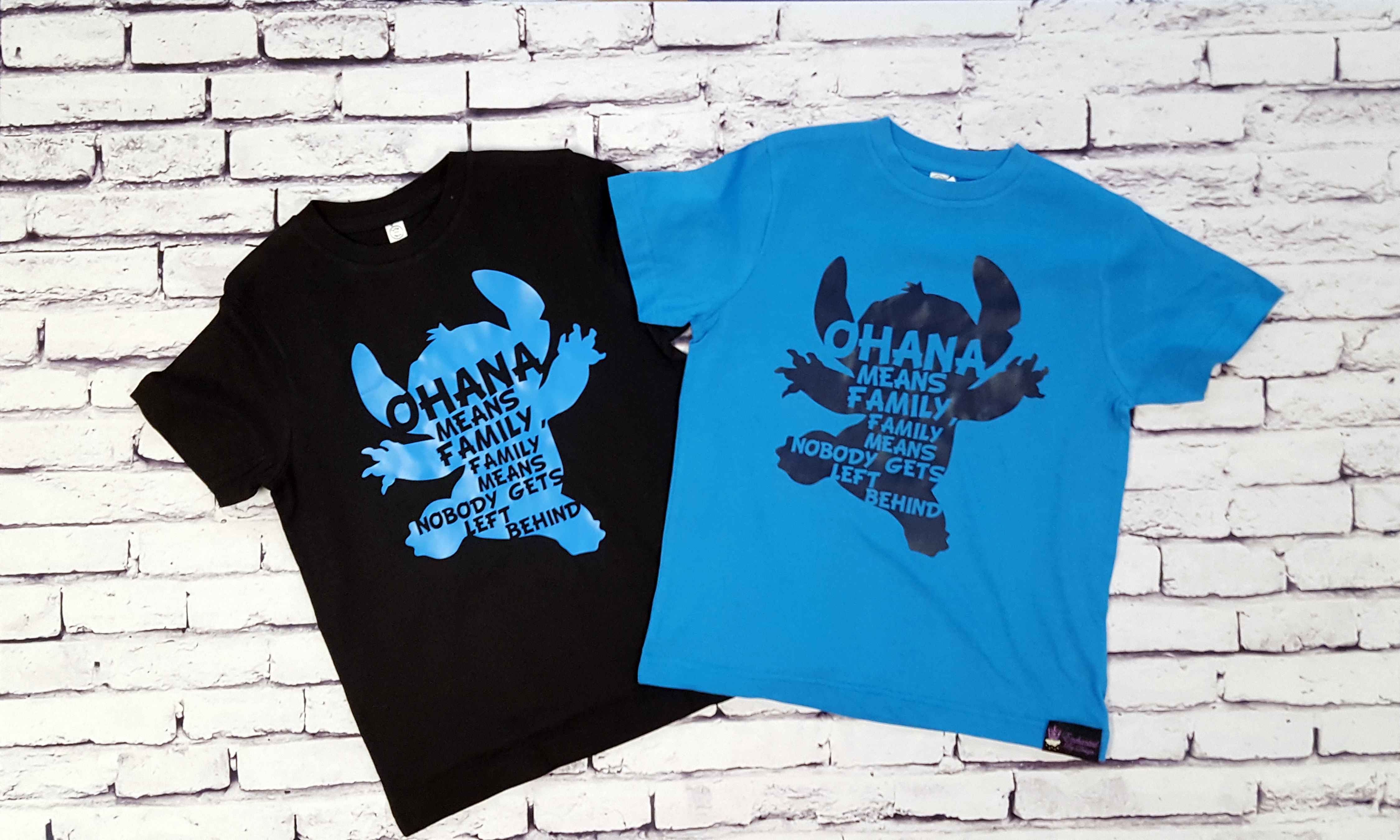 45684197 Ohana Means Family Tee Shirt For The Whole Family - Enchanted By Design